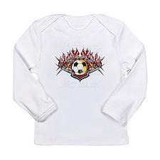 vector soccer ball Long Sleeve Infant T-Shirt