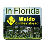 Waldo Florida Speed Trap Mousepad