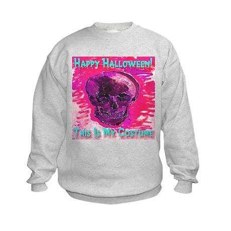 Skull Costume Little Devil Re Kids Sweatshirt