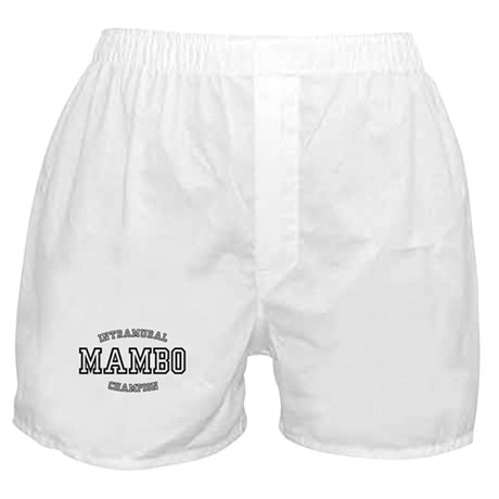 INTRAMURAL MAMBO CHAMPION Boxer Shorts