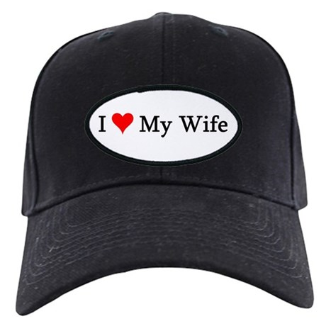 I Love My Wife Black Cap