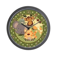 Jungle Safari Wall clock - Lucas