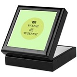 More Wine Less Whine Keepsake Box