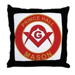 Prince Hall Throw Pillow