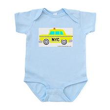 Wee Big New York Cab! Infant Bodysuit