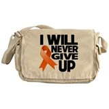 Never Give Up Multiple Sclerosis Messenger Bag