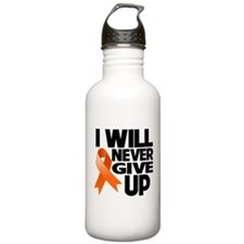 Never Give Up Multiple Sclerosis Sports Water Bottle