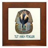 Tut Ankh Penguin Framed Tile