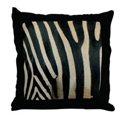 Zebra Safari Home Throw Pillow