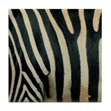 Zebra Safari Collection Tile Coaster