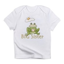 Big Sister Frog Infant T-Shirt