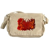 Katniss Everdeen the Name on Fire! Messenger Bag
