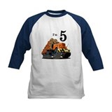 Monster Logging Truck Birthday Tee