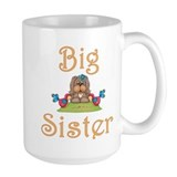 Big Sister Fluffy Pup 8 Coffee Mug