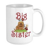 Big Sister Fluffy Pup 1 Mug