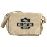 Yellowstone Nature Badge Messenger Bag