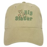 Big Sister Little Flowers Baseball Cap