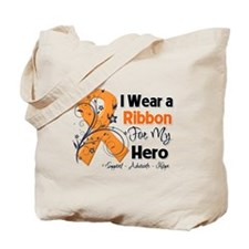 Multiple Sclerosis I Wear Ribbon Tote Bag