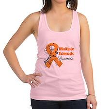 Awareness Multiple Sclerosis Racerback Tank Top