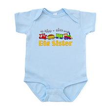 Big Sister Choo Choo Train Infant Bodysuit