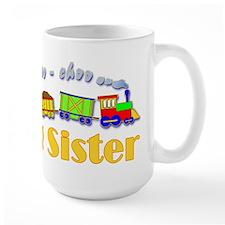 Big Sister Choo Choo Train Mug