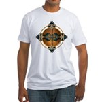 Native American Mandala 05 Fitted T-Shirt