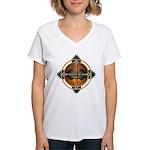 Native American Mandala 05 Women's V-Neck T-Shirt