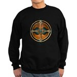 Native American Mandala 05 Sweatshirt (dark)