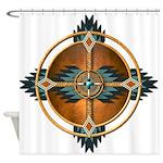 Native American Mandala 05 Shower Curtain
