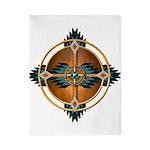 Native American Mandala 05 Twin Duvet