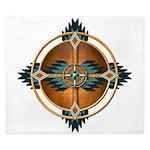 Native American Mandala 05 King Duvet