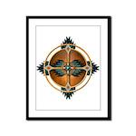 Native American Mandala 05 Framed Panel Print