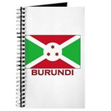 Burundi Flag Merchandise Journal