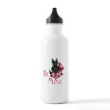 Scottish Terrier Valentine Water Bottle