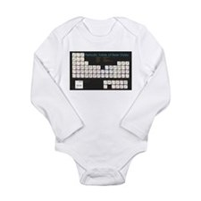 Periodic Table of Beer Long Sleeve Infant Bodysuit