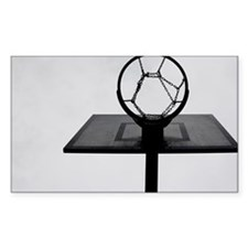 Basketball hoop. - Stickers