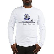 F/A-18 Hornet VFA-37 Ragin BullLong Sleeve T-Shirt