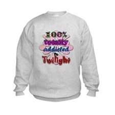 Totally addicted! Kids Sweatshirt