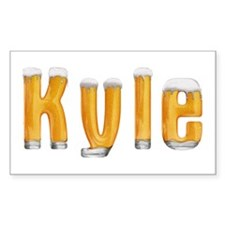 Kyle Beer Rectangle Decal