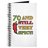 Spicy At 70 Years Old Journal