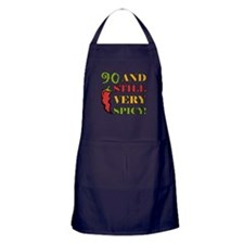 Spicy At 90 Years Old Apron (dark)