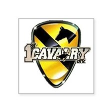 1st cav Oval Sticker