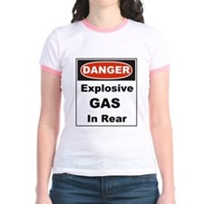 Danger Explosive Gas In Rear T