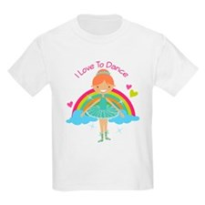 Ballerina I Love To Dance T-Shirt