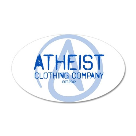 Atheist Clothing Company 35x21 Oval Wall Decal