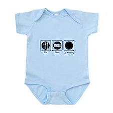 Eat, Sleep, Do Nothing Infant Bodysuit