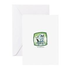 Skeleton Halloween Greeting Cards (Pk of 10)