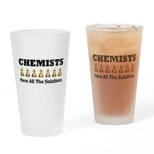 Cute Chemistry Drinking Glass