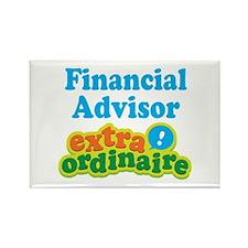 Financial Advisor Extraordinaire Rectangle Magnet