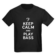Keep Calm and Play Bass T